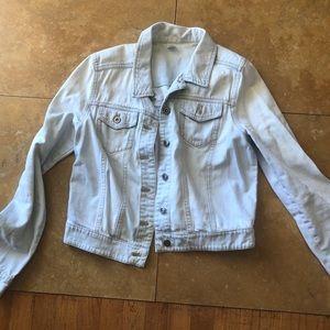 Light jean wash jacket